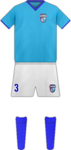 Equipación TOOFAN HARIROOD F.C.