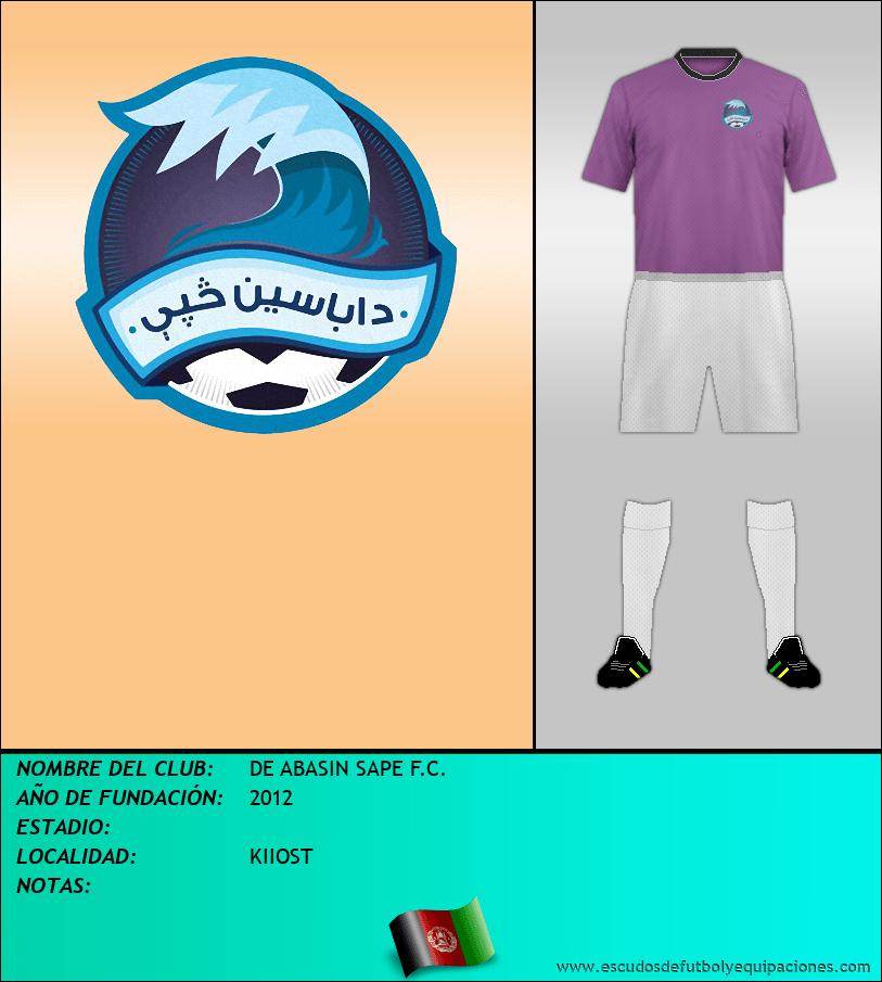 Escudo de DE ABASIN SAPE F.C.