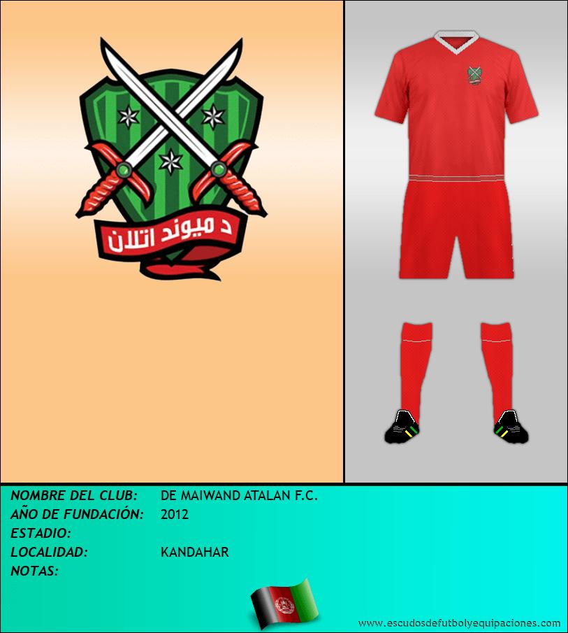 Escudo de DE MAIWAND ATALAN F.C.