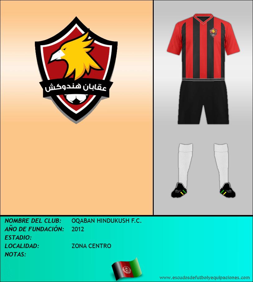 Escudo de OQABAN HINDUKUSH F.C.