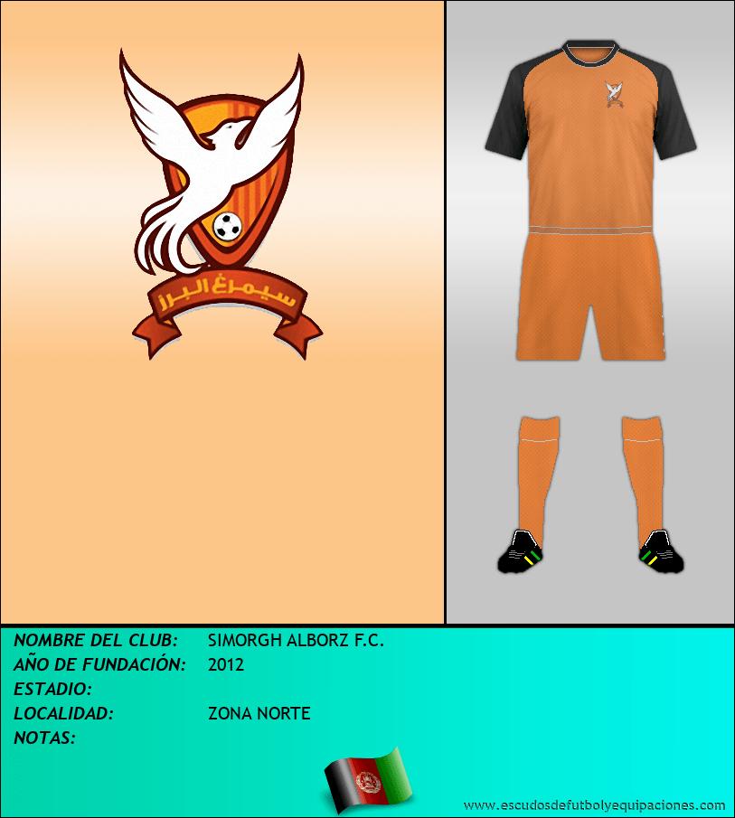 Escudo de SIMORGH ALBORZ F.C.