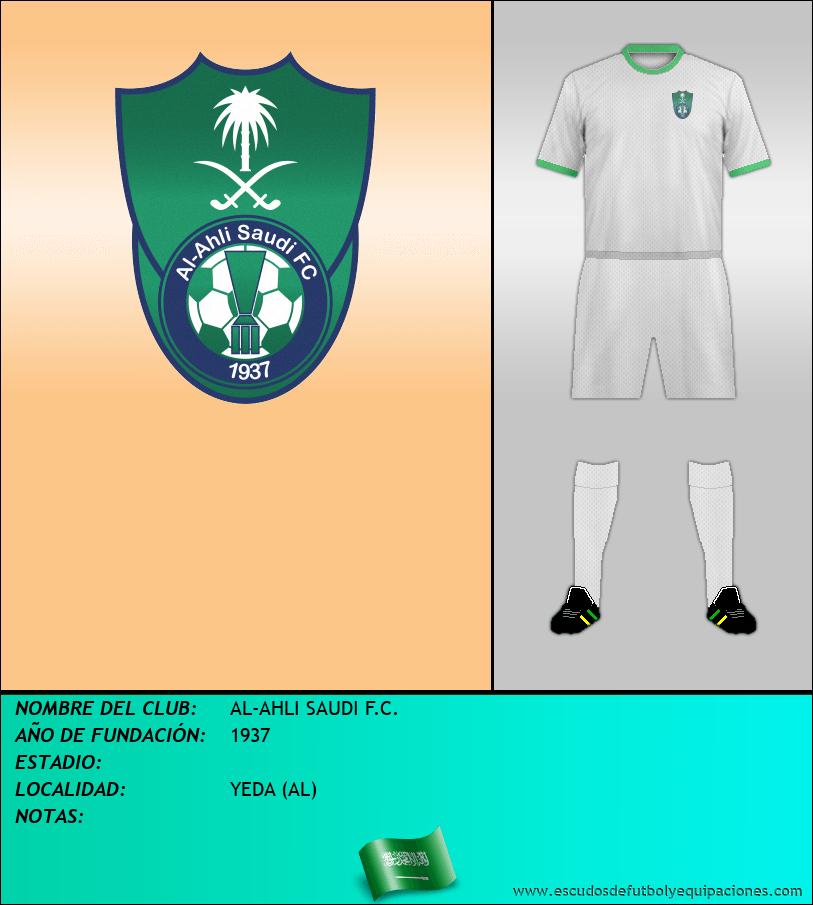 Escudo de AL-AHLI SAUDI F.C.
