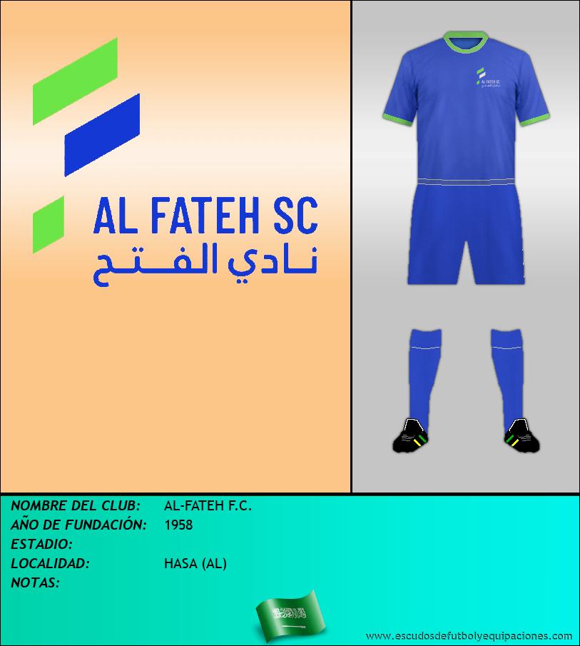 Escudo de AL-FATEH F.C.