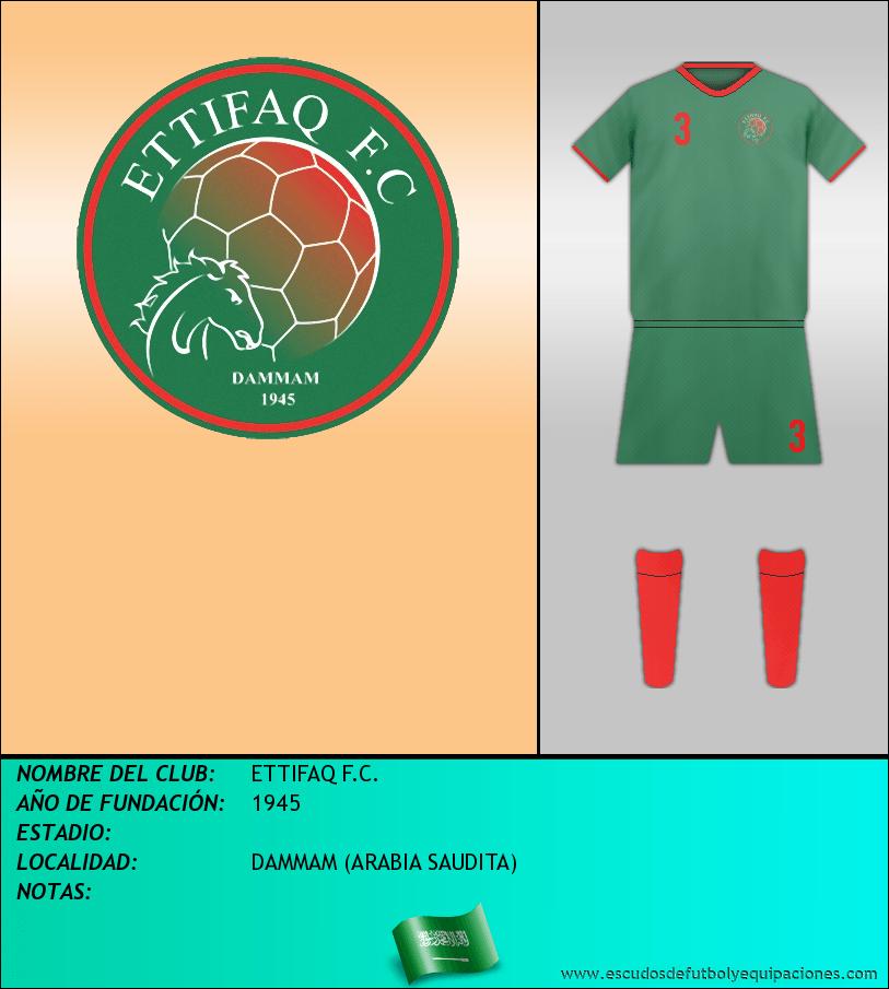 Escudo de ETTIFAQ F.C.
