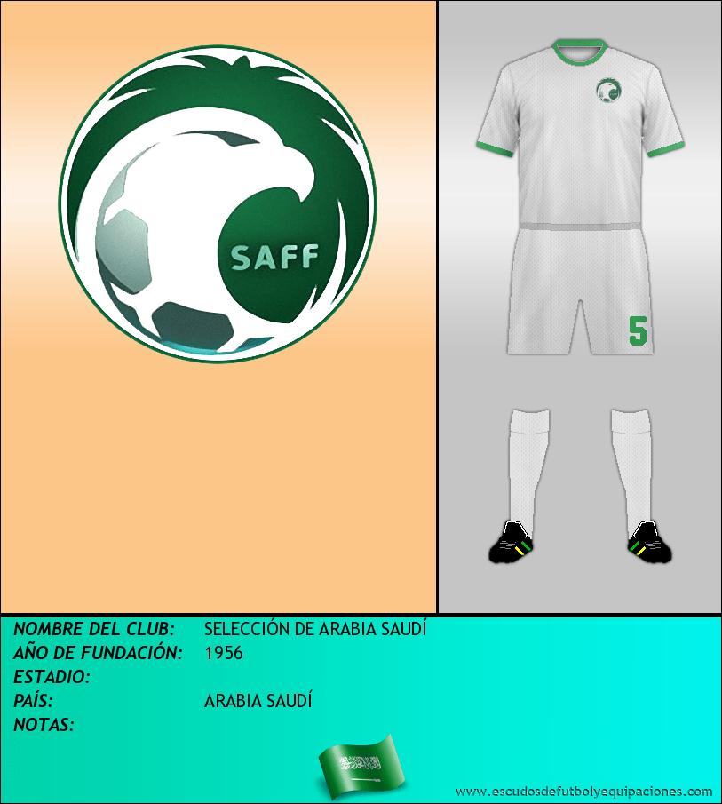 Escudo de SELECCIÓN DE ARABIA SAUDÍ