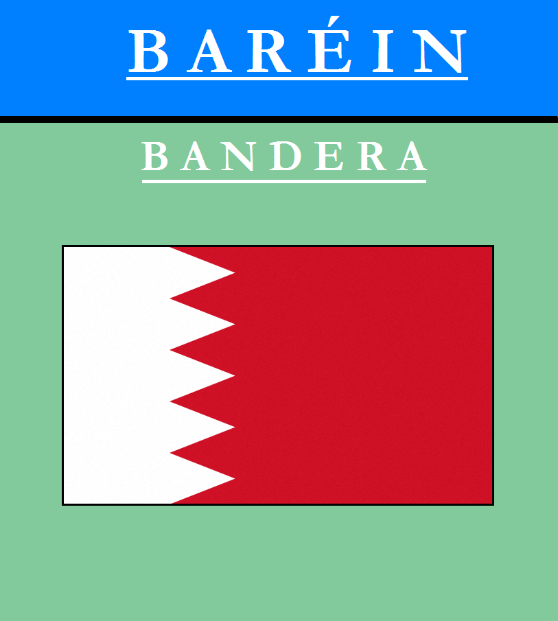 Escudo de BANDERA DE BAHRÉIN