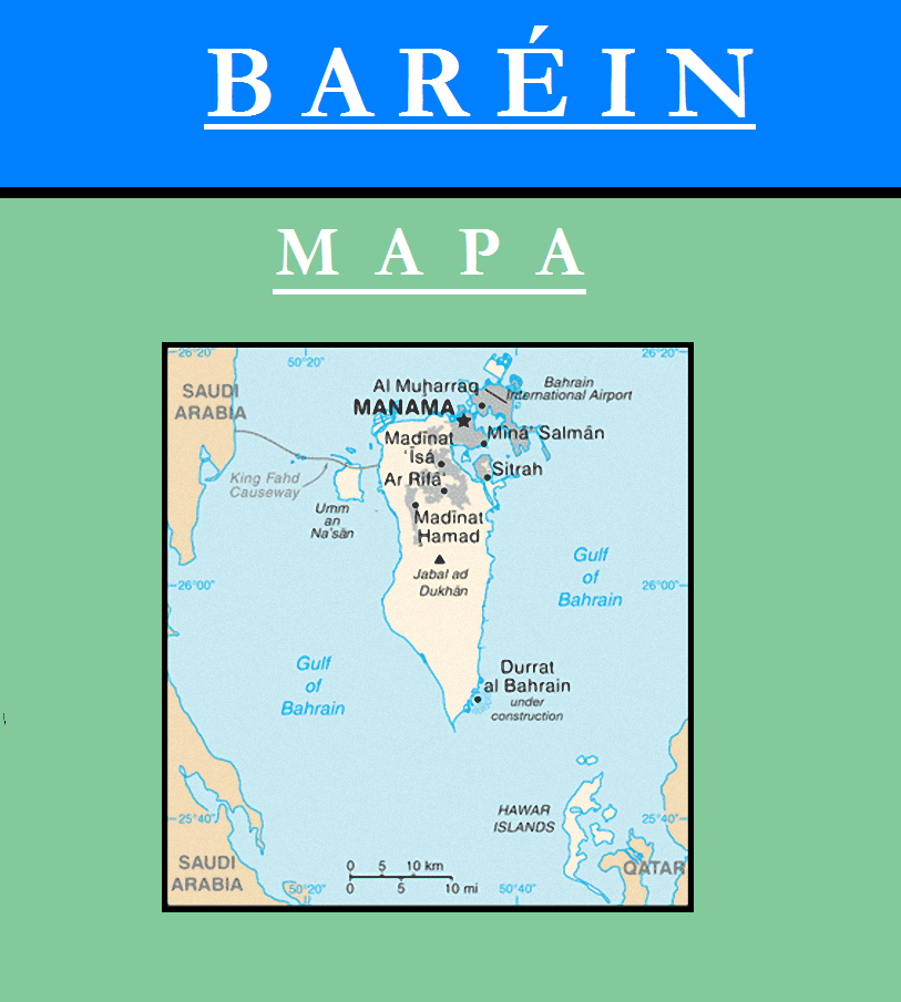 Escudo de MAPA DE BAHRÉIN