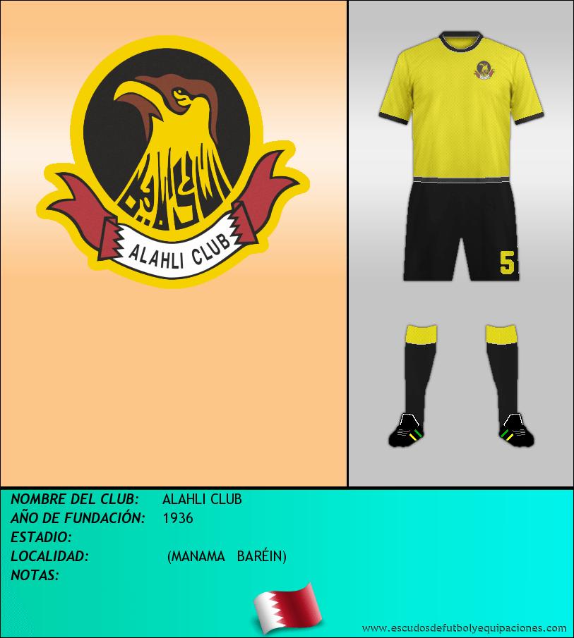 Escudo de ALAHLI CLUB