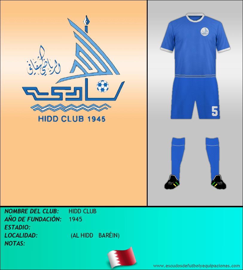 Escudo de HIDD CLUB