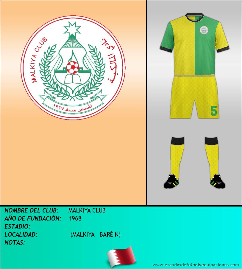 Escudo de MALKIYA CLUB