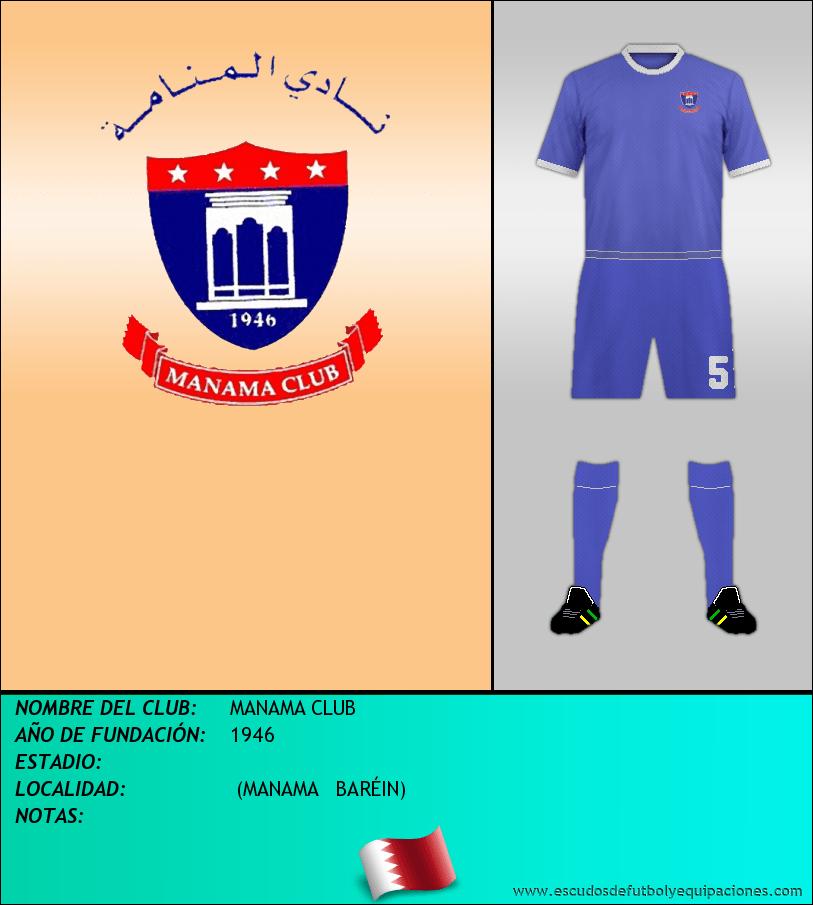 Escudo de MANAMA CLUB