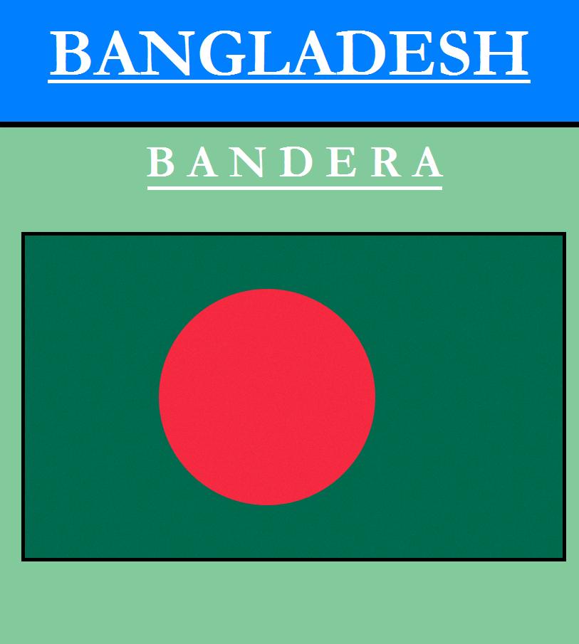 Escudo de BANDERA DE BANGLADESH