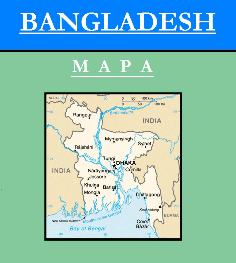 Escudo de MAPA DE BANGLADESH