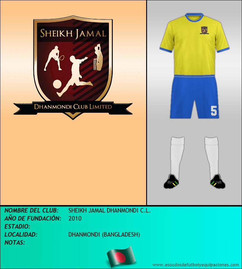 Escudo de SHEIKH JAMAL DHANMONDI C.L.