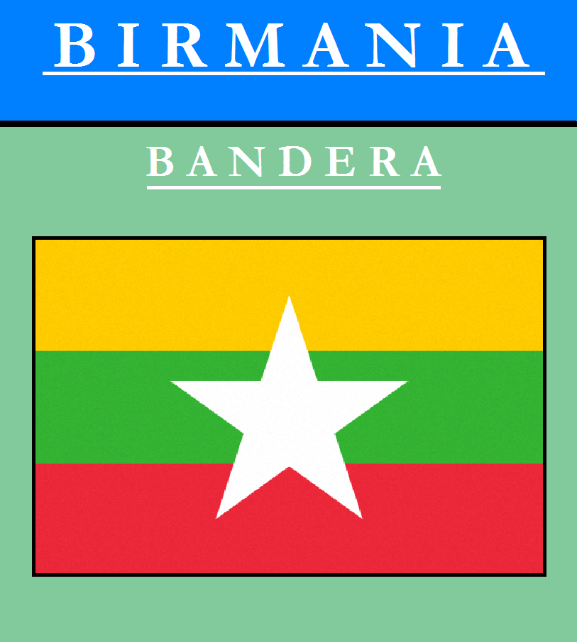 Escudo de BANDERA DE BIRMANIA
