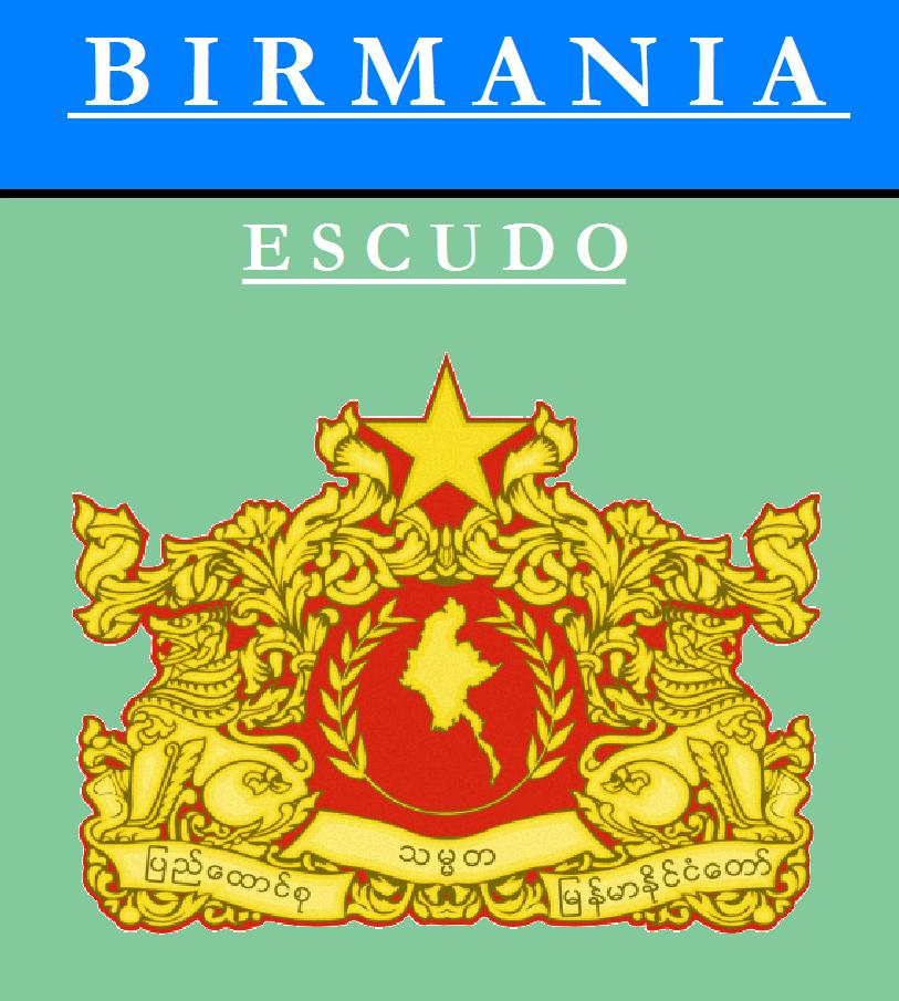Escudo de ESCUDO DE BIRMANIA