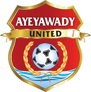 Escudo de AYEYAWADY UNITED F.C. (BIRMANIA)