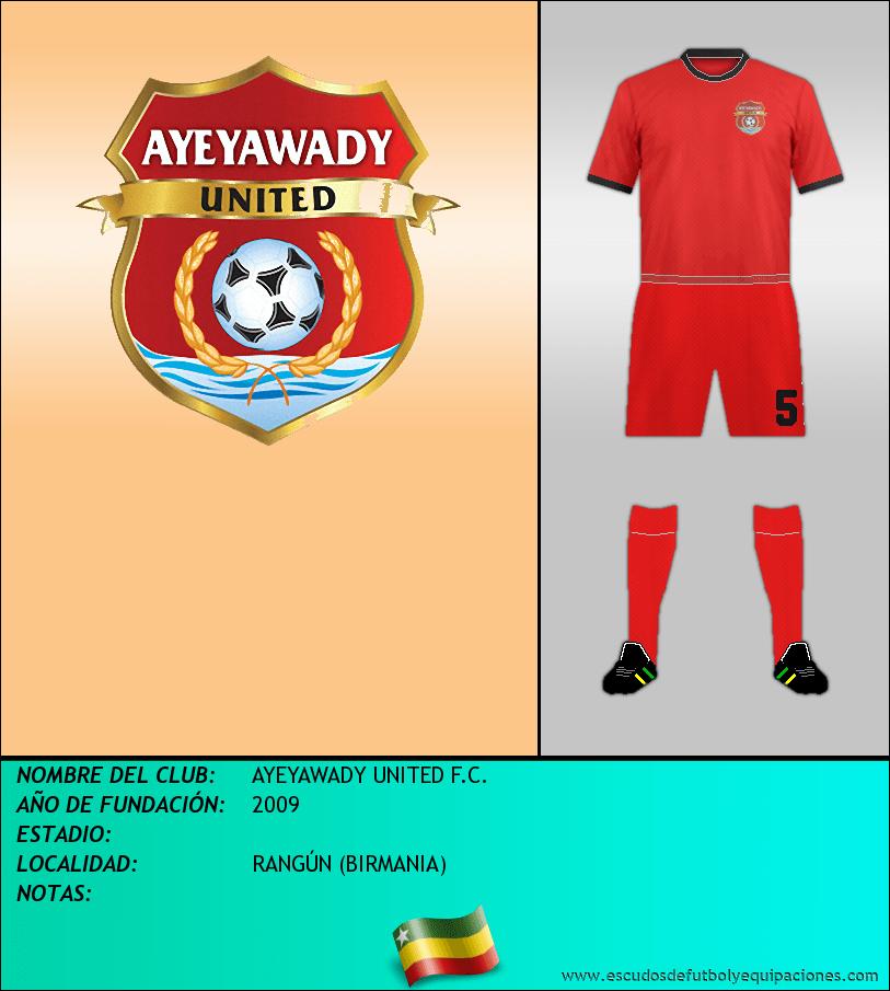Escudo de AYEYAWADY UNITED F.C.