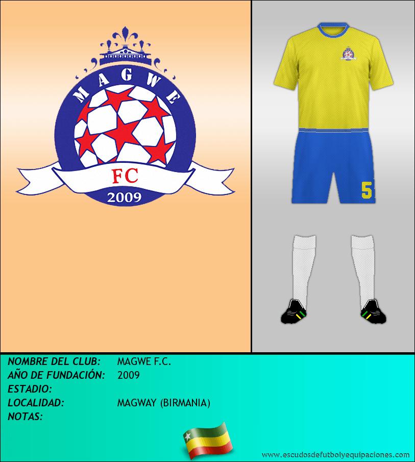 Escudo de MAGWE F.C.