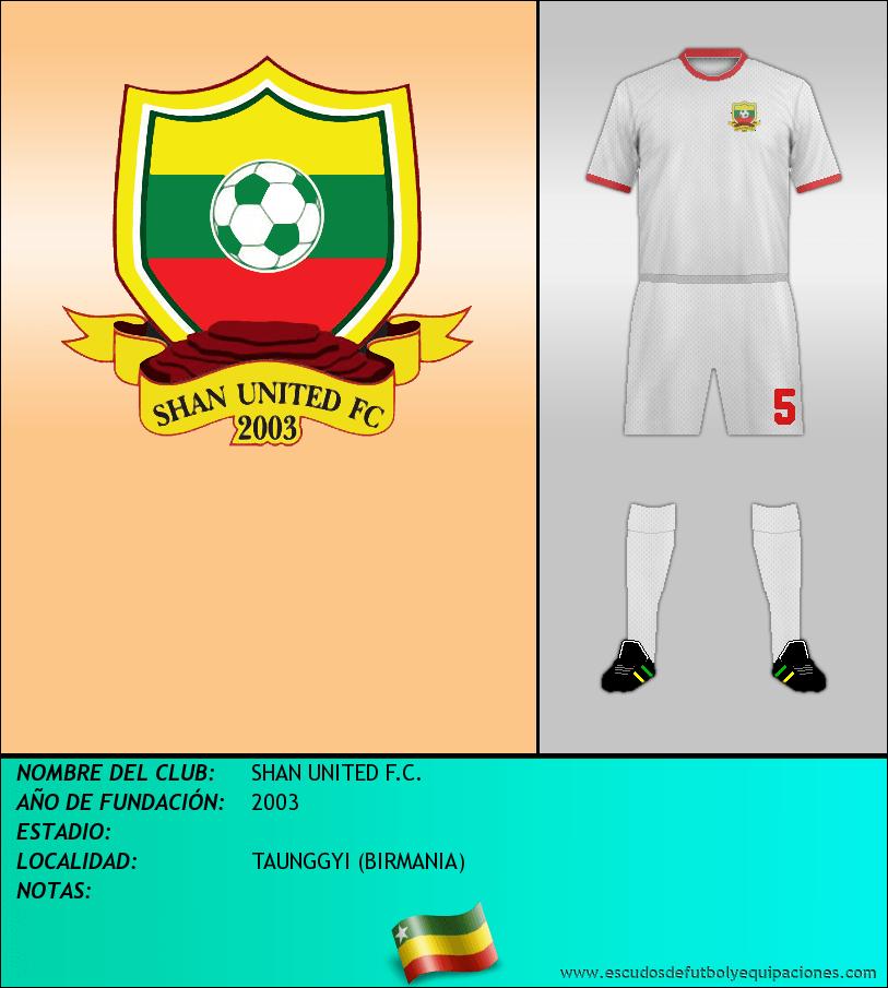 Escudo de SHAN UNITED F.C.