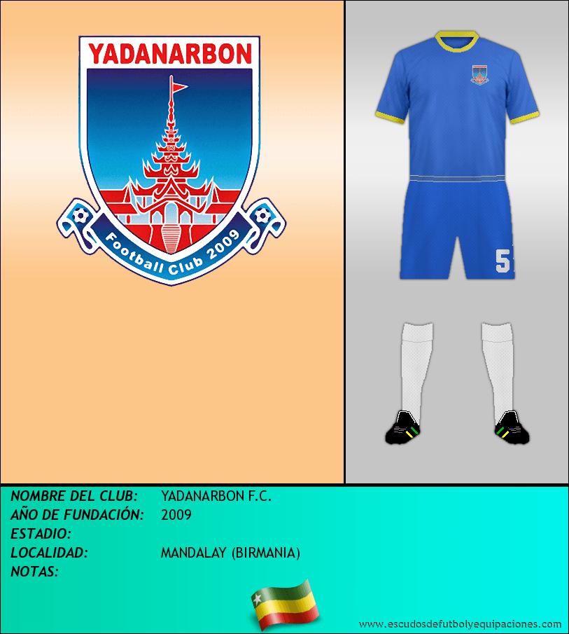 Escudo de YADANARBON F.C.