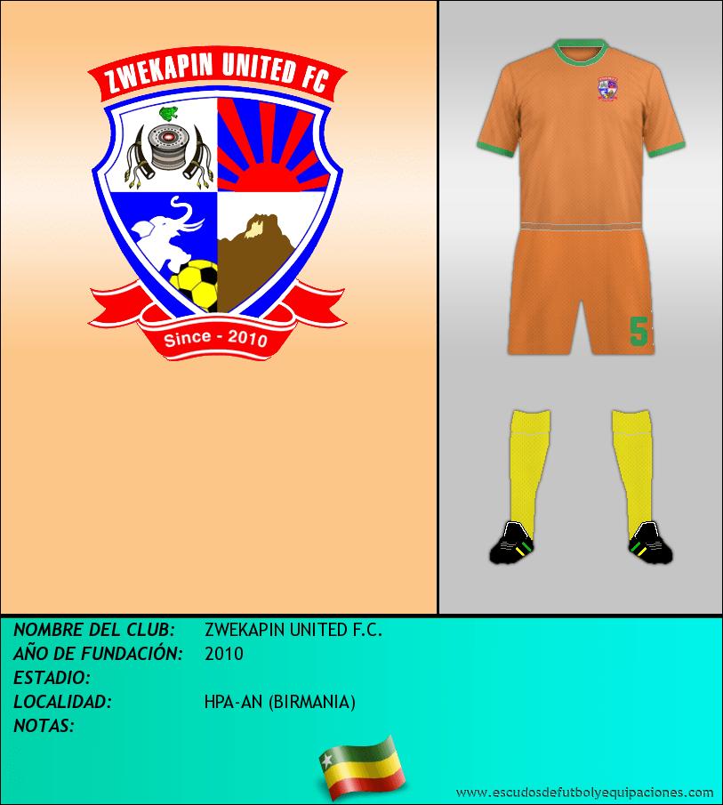 Escudo de ZWEKAPIN UNITED F.C.