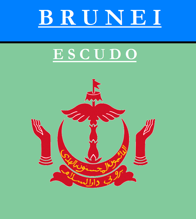 Escudo de ESCUDO DE BRUNEI