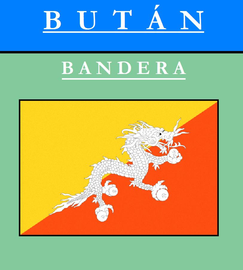 Escudo de BANDERA DE BUTÁN