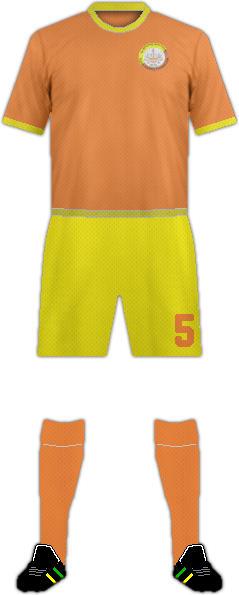 Equipación UGYEN ACADEMY F.C.