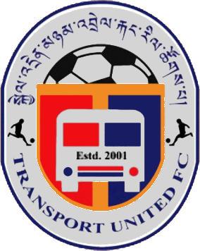 Escudo de TRANSPORT UNITED F.C. (BUTÁN)