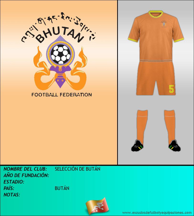 Escudo de SELECCIÓN DE BUTÁN