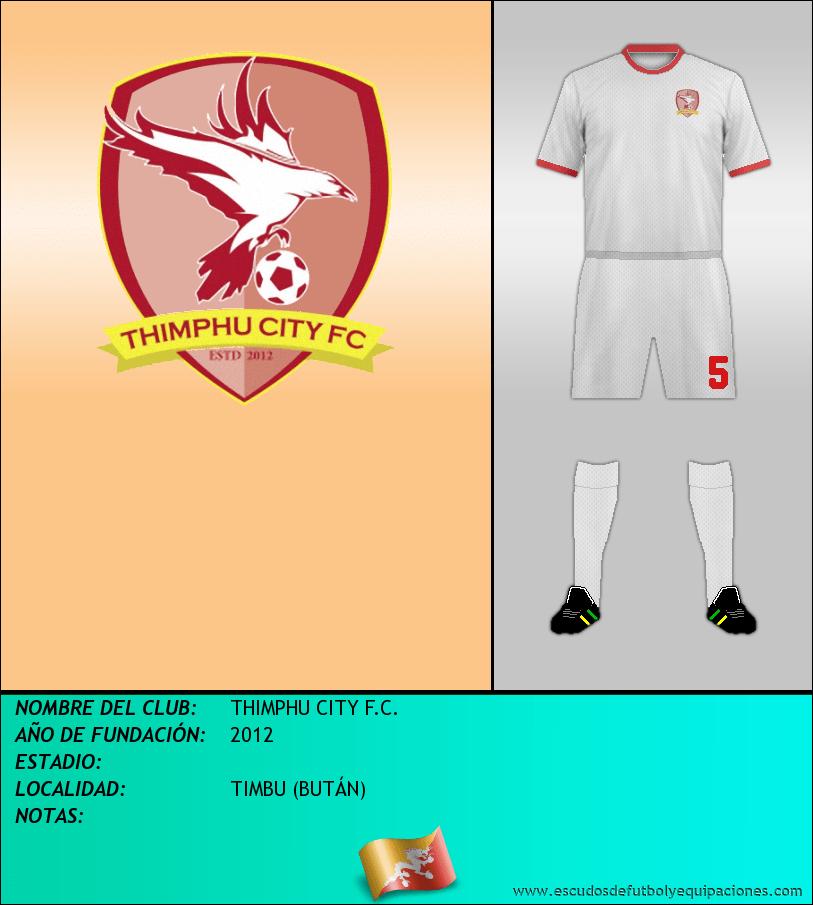 Escudo de THIMPHU CITY F.C.