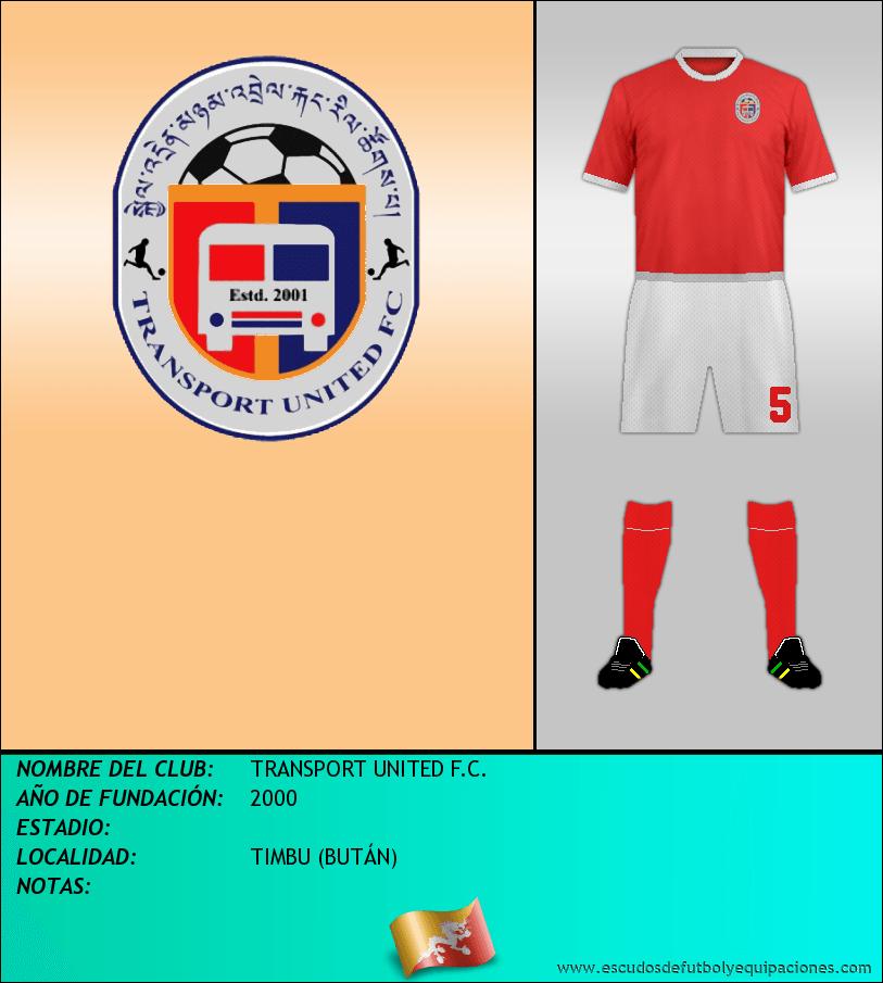Escudo de TRANSPORT UNITED F.C.