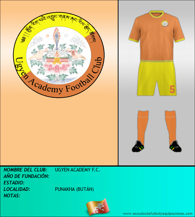Escudo de UGYEN ACADEMY F.C.
