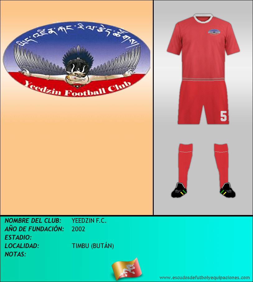 Escudo de YEEDZIN F.C.