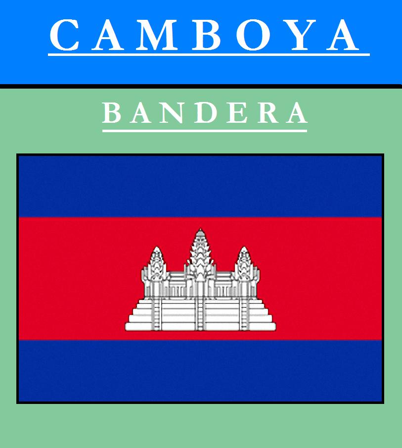 Escudo de BANDERA DE CAMBOYA
