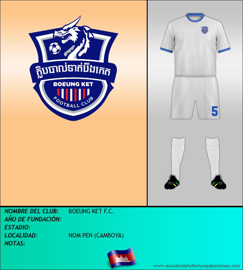 Escudo de BOEUNG KET F.C.