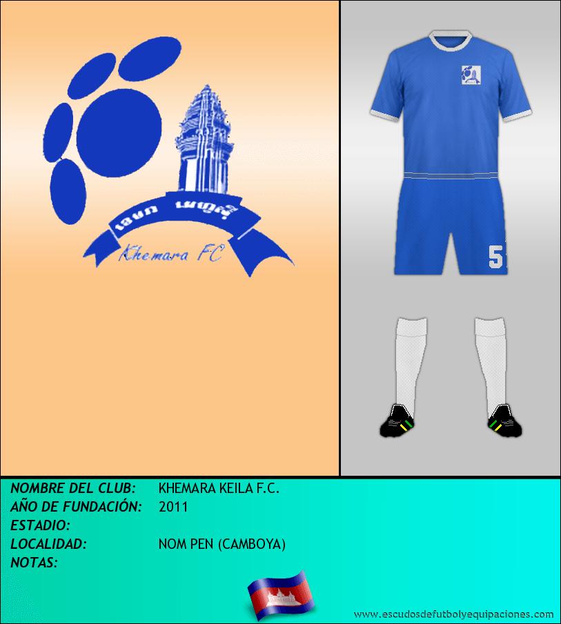 Escudo de KHEMARA KEILA F.C.