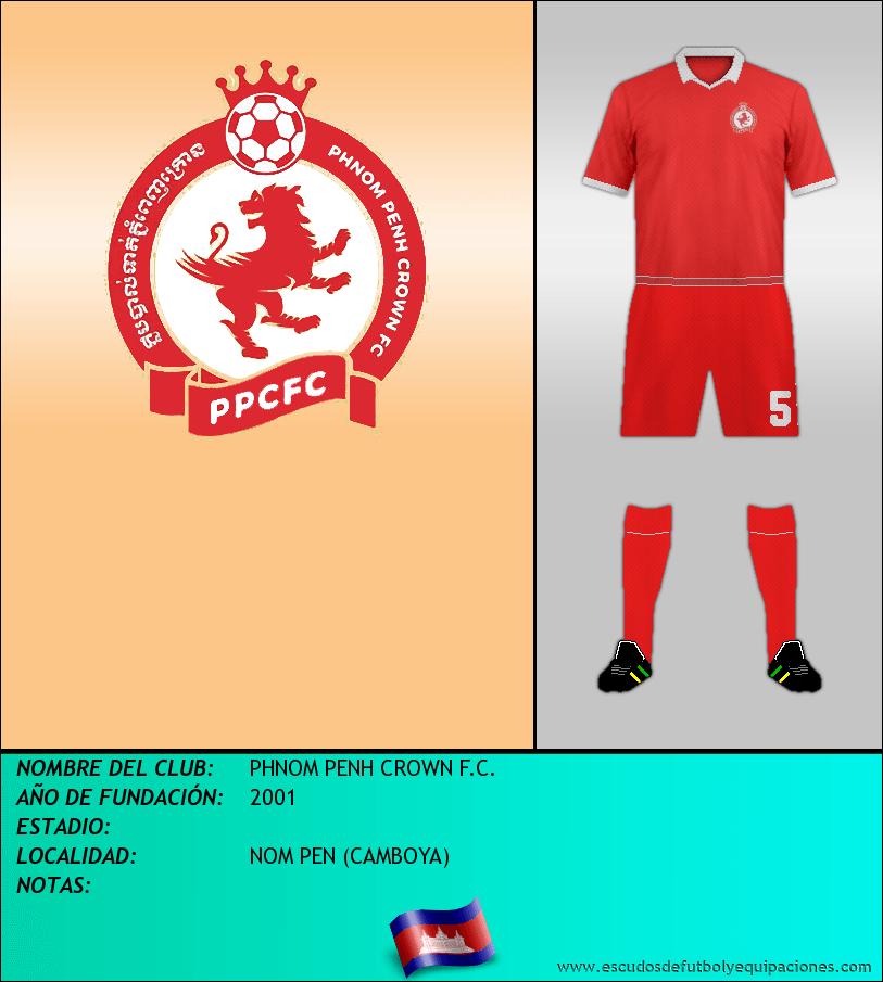 Escudo de PHNOM PENH CROWN F.C.