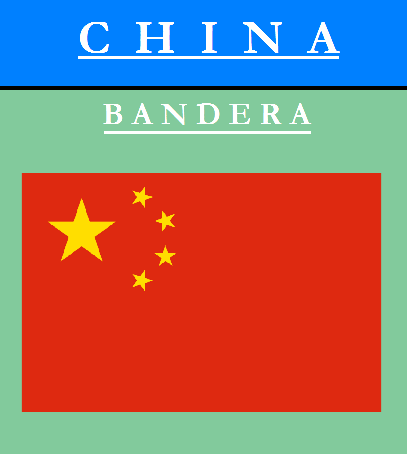 Escudo de BANDERA DE CHINA