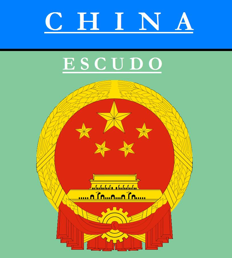 Escudo de ESCUDO DE CHINA