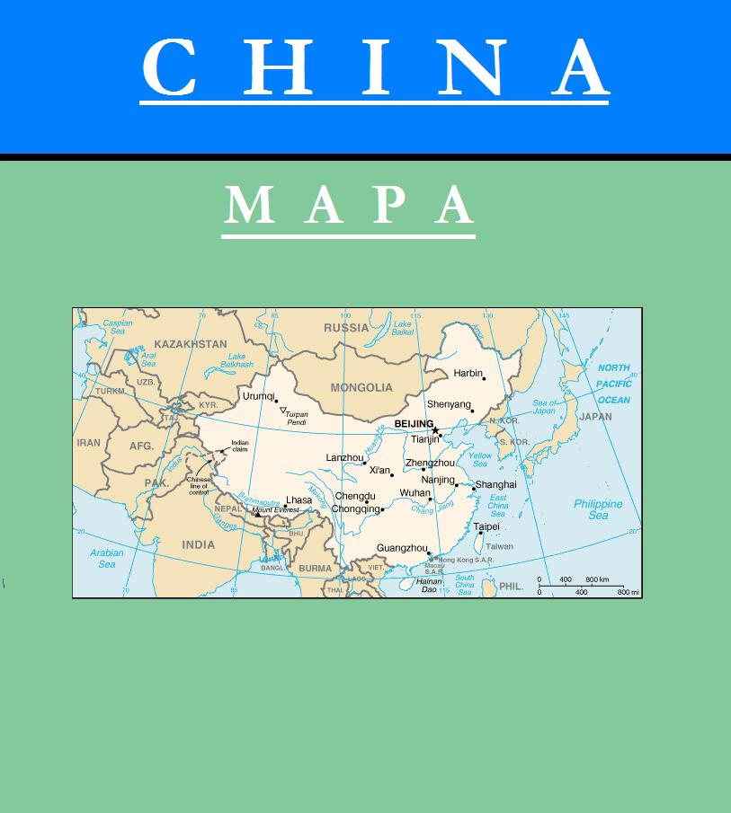 Escudo de MAPA DE CHINA