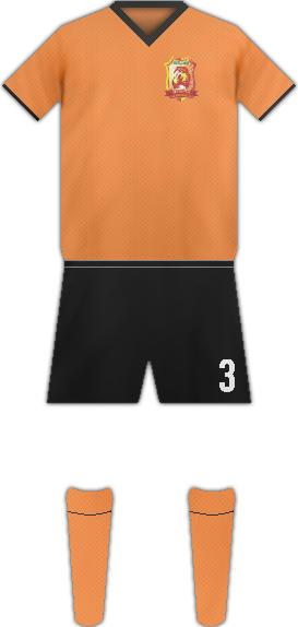 Equipación WUHAN ZALL F.C.