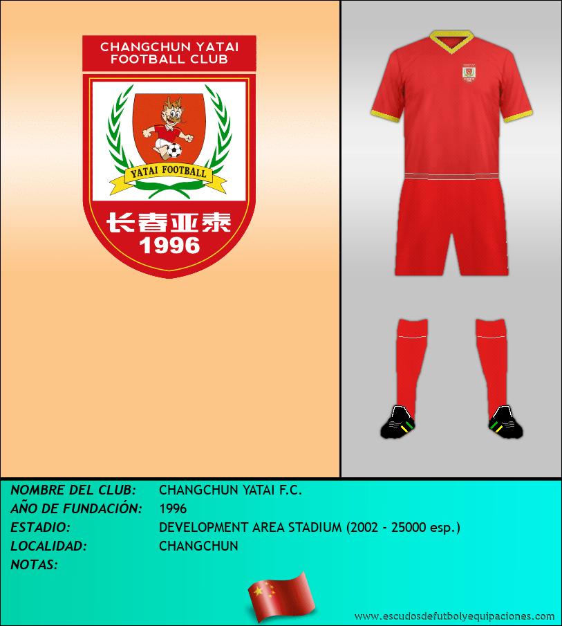 Escudo de CHANGCHUN YATAI F.C.