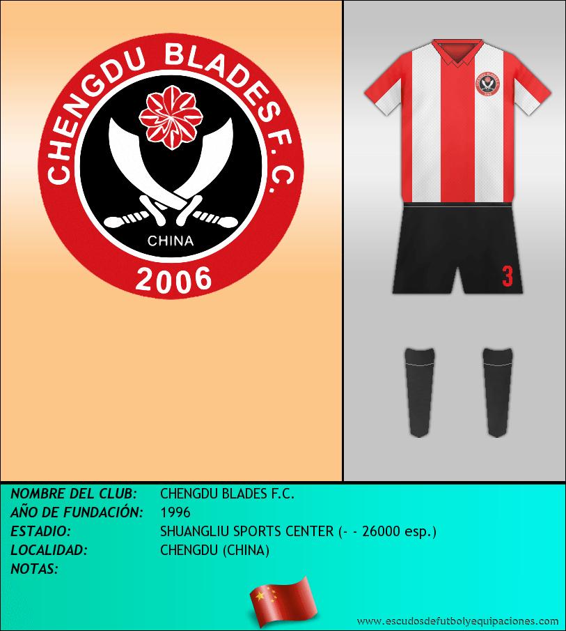 Escudo de CHENGDU BLADES F.C.