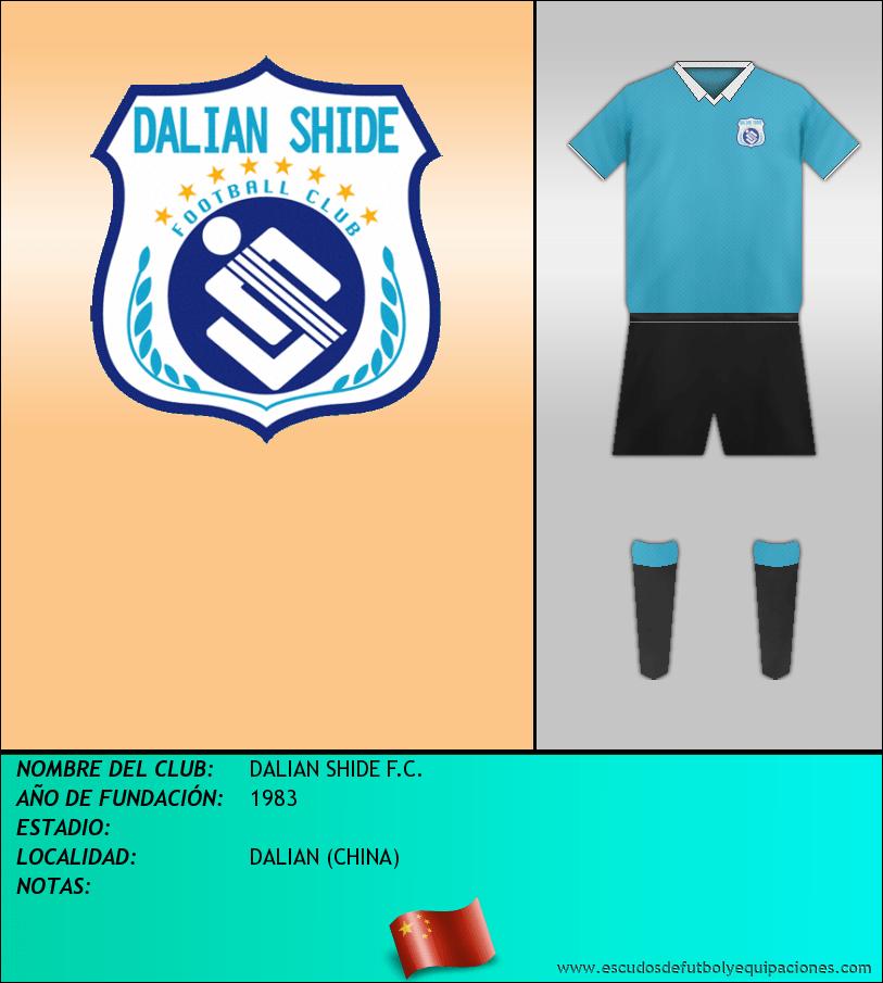 Escudo de DALIAN SHIDE F.C.