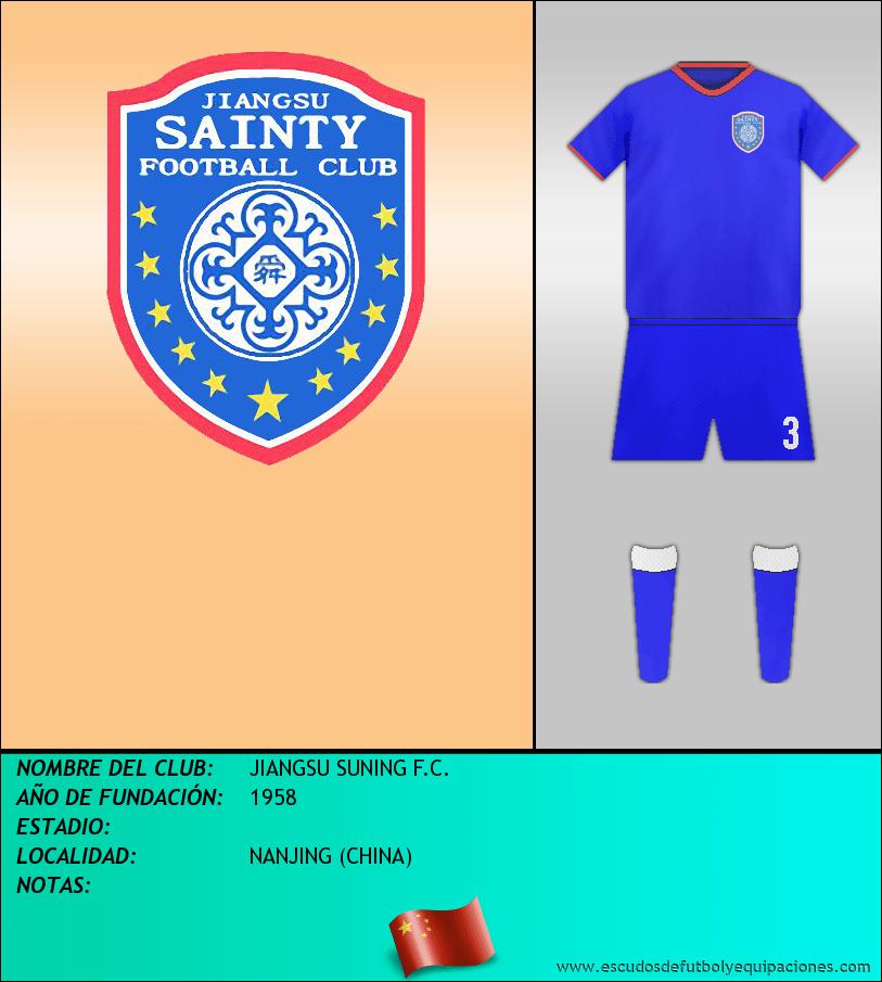 Escudo de JIANGSU SUNING F.C.