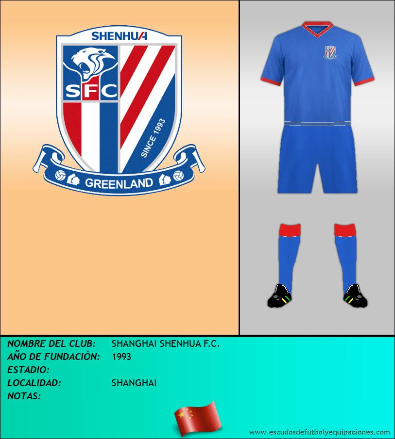 Escudo de SHANGHAI SHENHUA F.C.