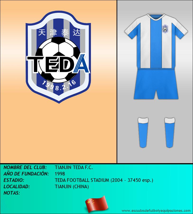 Escudo de TIANJIN TEDA F.C.