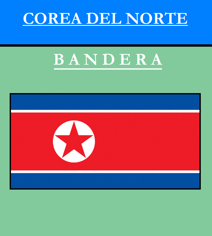 Escudo de BANDERA DE COREA DEL NORTE